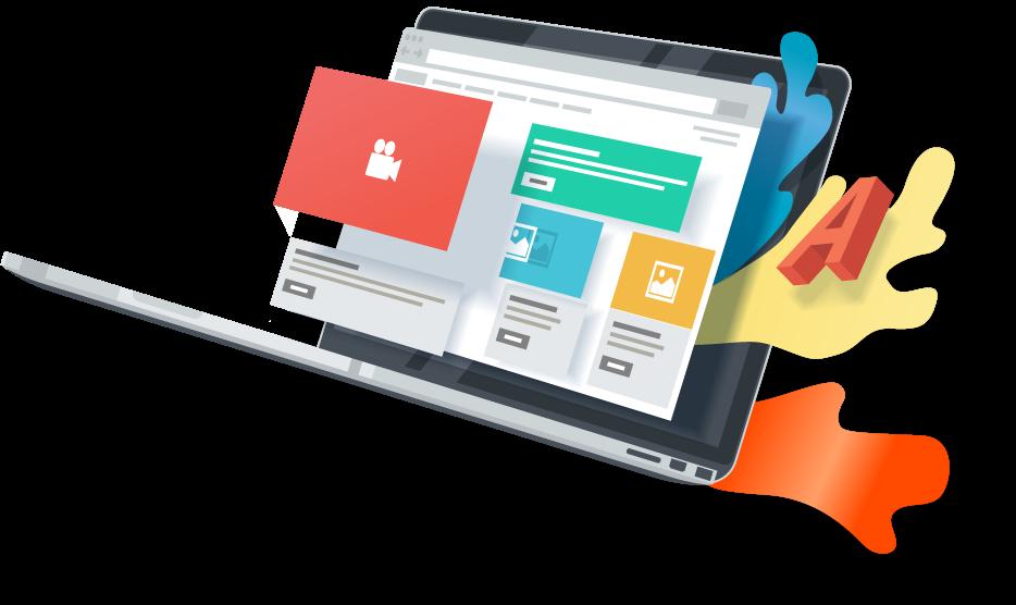 Votre site internet à Mayotte graphiquement mémorable